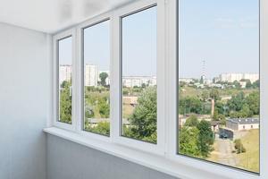 balkonu stiklinimas Vilniuje