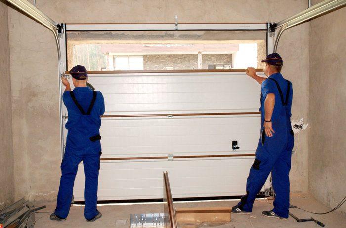 garazo vartu montavimas kaina