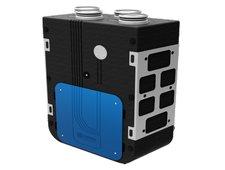Plokštelinis rekuperatorius KOMFORT EC D5B180-E su valdymo (LED) pulteliu S14 ir entalpiniu šilumokaičiu