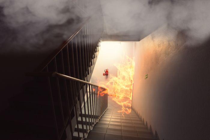 Kaip reikia elgtis kilus gaisrui