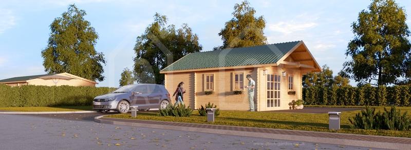 Medinis namas Scott