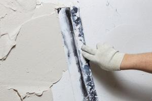 Sienų paruošimas dažymui